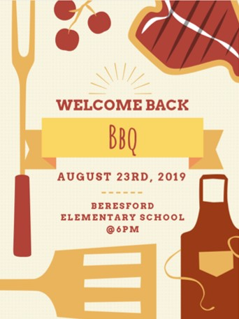 2019 Back to School BBQ Flyer Eng